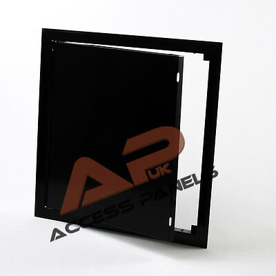 Metal Access Panel 300x300mm (12x12inch) BLACK Inspection Panel Inspection Hatch