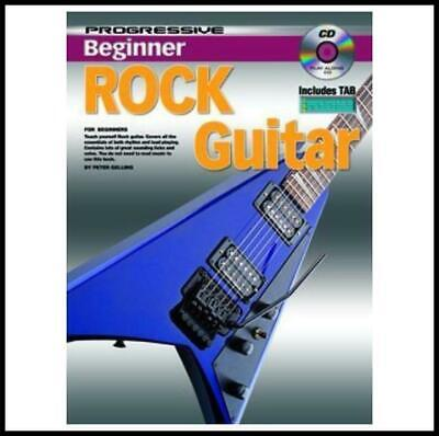 Progressive Beginner Rock Guitar Book with CD Learn to Play rock Guitar