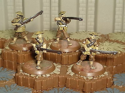 Ashigaru Harquebus Riflemen - Heroscape 7 - Fields of Valor- Free Ship Available