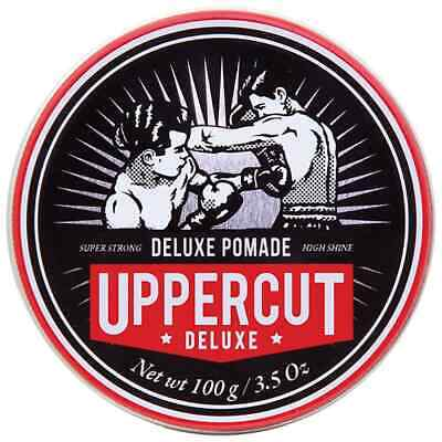 Uppercut Deluxe Pomade 100g Mens Hair Gel *GENUINE* Largest AUS Uppercut Seller