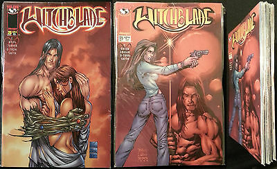 Witchblade 20 21 22 23 24  25 26 27 28 29 30 31 32 33 34 35 Top Cow Image Comics