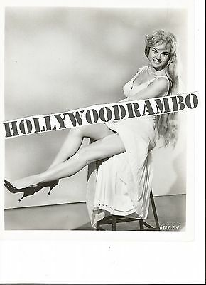 Vintage UNIDENTIFIED ACTRESS Original Photo UNKNOWN GIRL Sexy Legs BUSTY