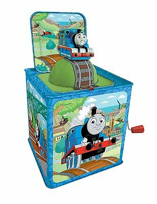 Thomas The Tank Engine And Friends Jack In The Box Tin Plate Schylling Toys