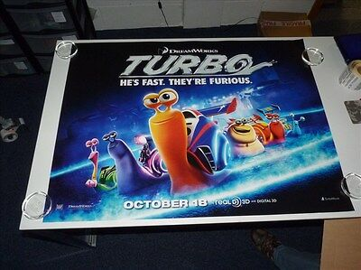 Turbo Animation (Ryan Reynolds) Original Film / Movie Poster Quad 76x102cm