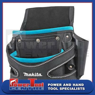 Makita Blue Collection 2 Pocket Screw Nail Fixing Tool Belt Holder Pouch P-71750