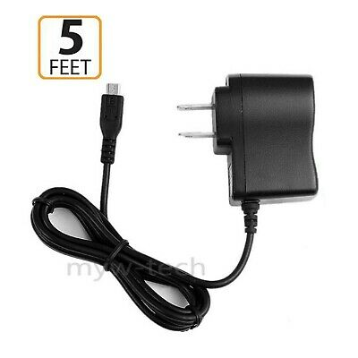 1A AC/DC Wall Charger Power Adapter Cord For Verizon Ellipsis TM 7 4G LTE Tablet
