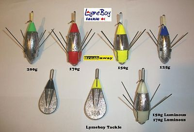 4 x Breakaway Impact Leads / Weights - All Sizes - Mixed Sizes - Sea Fishing