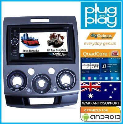 -GPS For Ford Ranger PL PK PX Car Player Navigation DVD Radio Stereo Bluetooth