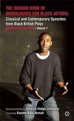 The Oberon Book of Monologues for Black Actors: Women: Classical and Contemporar