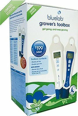 Bluelab Grower's Toolbox Limited Edition - ph ppm pen blue lab meter tester