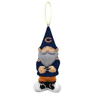 Chicago Bears Gnome Holiday X-Mas Christmas Tree Ornament NFL