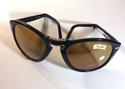 641a840803b2 NOS VINTAGE SUNGLASSES Persol 649 5 96 Ratti Tortoise Brown Classic ...