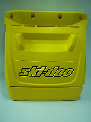 Ski-Doo Rev Chassis Snow Flap Yellow With Black Shadow 520000412