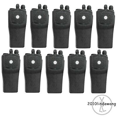 10x Replacement Kit Case Housing for Motorola EP450 Portable Radio