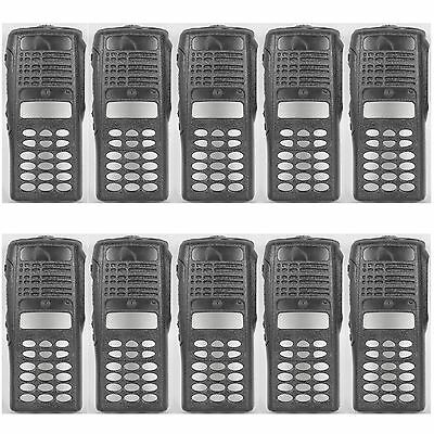 10x Black Replacement Repair Case Housing for Motorola HT1250 Portable Radio