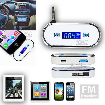 FM Radio Music Transmitter universal for Samsung Galaxy S4 s5 s6 Car Player