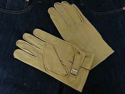 Leder Handschuhe Leather Hot Rod Gloves 1939 Vintage Heritage Style Rockabilly