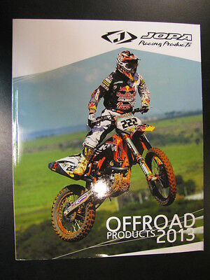 Jopa Racing Products Catalogus 2013 (Offroad en Onroad)