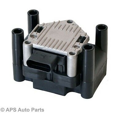 VW Jetta Lupo Passat Polo Beetle 1.4 1.6 2.0 Ignition Coil Pack 032905106 New