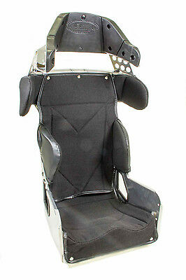 """KIRKEY 70 SERIES CONTAINMENT 17"""" SEAT & COVER BLACK 20deg.HEAD SHOULDER SUPPORTS"""