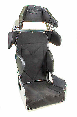 """KIRKEY 70 SERIES CONTAINMENT 14"""" SEAT & COVER BLACK 20deg.HEAD SHOULDER SUPPORTS"""