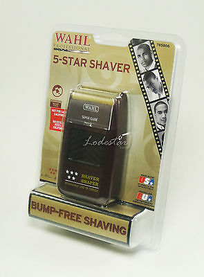 [Wahl] 5 Star Rechargeable Cordless Shaver 8061 Five Free U.S. Shipping H2O-less