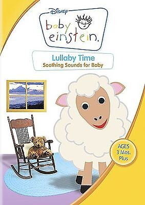 DISNEY BABY EINSTEIN LULLABY TIME SOOTHING SOUNDS FOR BABY DVD