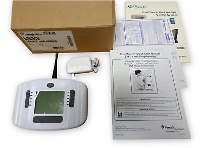 Pentair 520340 MobileTouch Wireless Hand-Held Controller Replace Remote w/ AC Ad