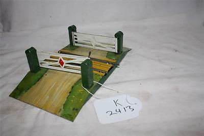 HORNBY O GAUGE   ROAD CROSSING  VERY GOOD [k2413]