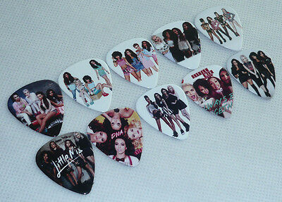 Lots of 100 pcs Little Mix 2-sides Color printing Guitar Picks