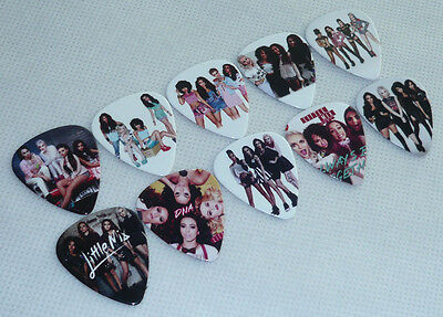 Lots of 50 pcs Little Mix 2-sides Color printing Guitar Picks