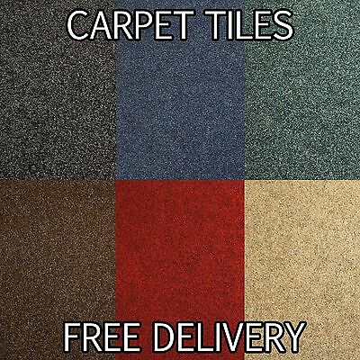 Quality Brand New CARPET TILE Flooring - Domestic - Living Room Heavy Duty Tile