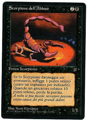 1x Scorpione dell'Abisso - Pit Scorpion (ITALIAN Magic Legends - carte Leggende)
