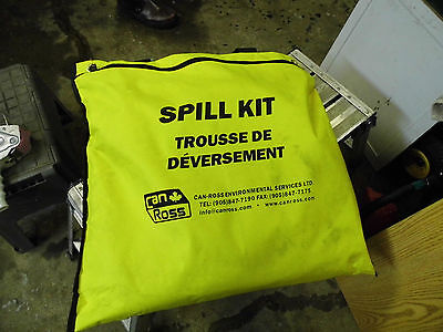 Can Ross Universal Spill Kit Sk-Uhnd In Handy Yellow Carry Bag