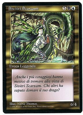 Sivitri Scarzam 1x carte Magic card (ITALIAN LEGENDS - Leggende) NM-EXC