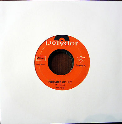 Single / THE WHO / BEAT / 60er / RARITÄT /