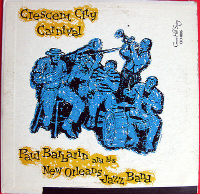"10""  / Paul Barbarin And His New Orleans Jazz Band / Rar"