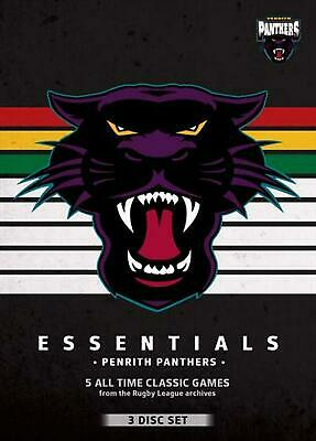 NRL - Essentials - Penrith Panthers - DVD Region 4 Free Shipping!