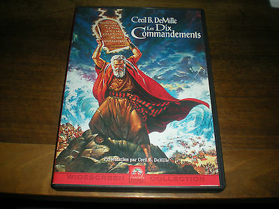 Dvd Film Les Dix Commandements - Cecil B.demille - 2 Dvd Widescreen Collection