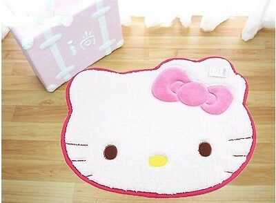 Kitty Cat Bow Cute Big Head floor Mat rug Door Mat Skidproof Carpet