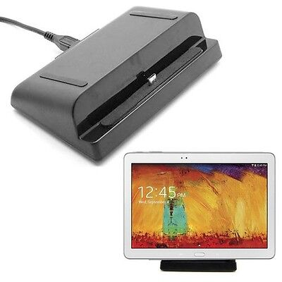 Desktop Stand Charger Dock Cradle Fr Samsung Galaxy Note 10.1 2014 Edition P600