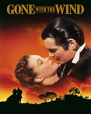 """Gone With the Wind - 1939, Movie Poster (8""""x10"""" Photo)"""