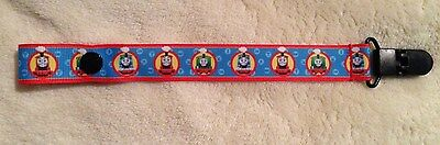 Thomas The Train Pacifier Holder Clip
