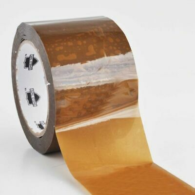 "12 Rolls Brown/Tan Tape Packaging Packing 3"" X 55 Yards 1.8 Mil"