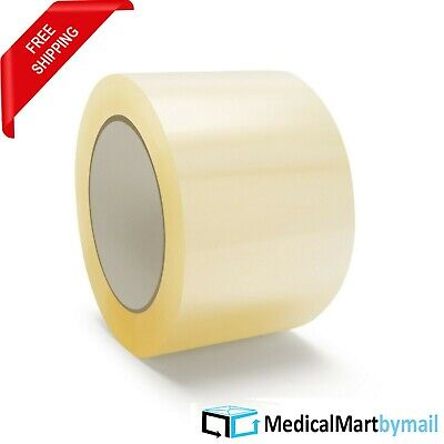 """12 Rolls 3"""" 1.75 Mil Clear Packing Tape 110 Yards Free Shipping !!"""