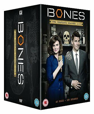 "Bones Complete Season 1-8 Collection Dvd Box Set 45 Disc R4 ""new&sealed"""