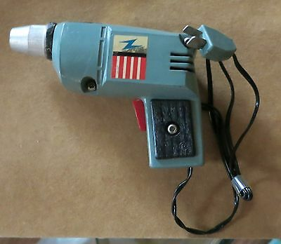 1969 IDEAL TOOLS POWER MITE DRILL MINI TOY Good Condition *Collectible*