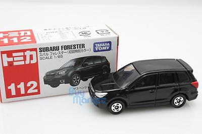 New Takara Tomica Tomy #112 Subaru Forester Scale 1/65 Diecast Toy Car Japan