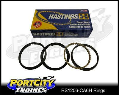Hastings Cast Piston Ring Set Holden 6cyl 186 202 3.3L Red Blue Black RS1256