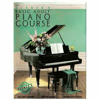 Alfred Alfred's Basic Adult Piano Course Lesson Book Level 2 Instruction Book